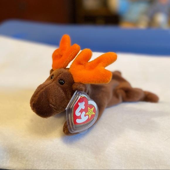 Ty| Ty Beanie Babies 1993 Chocolate the Moose